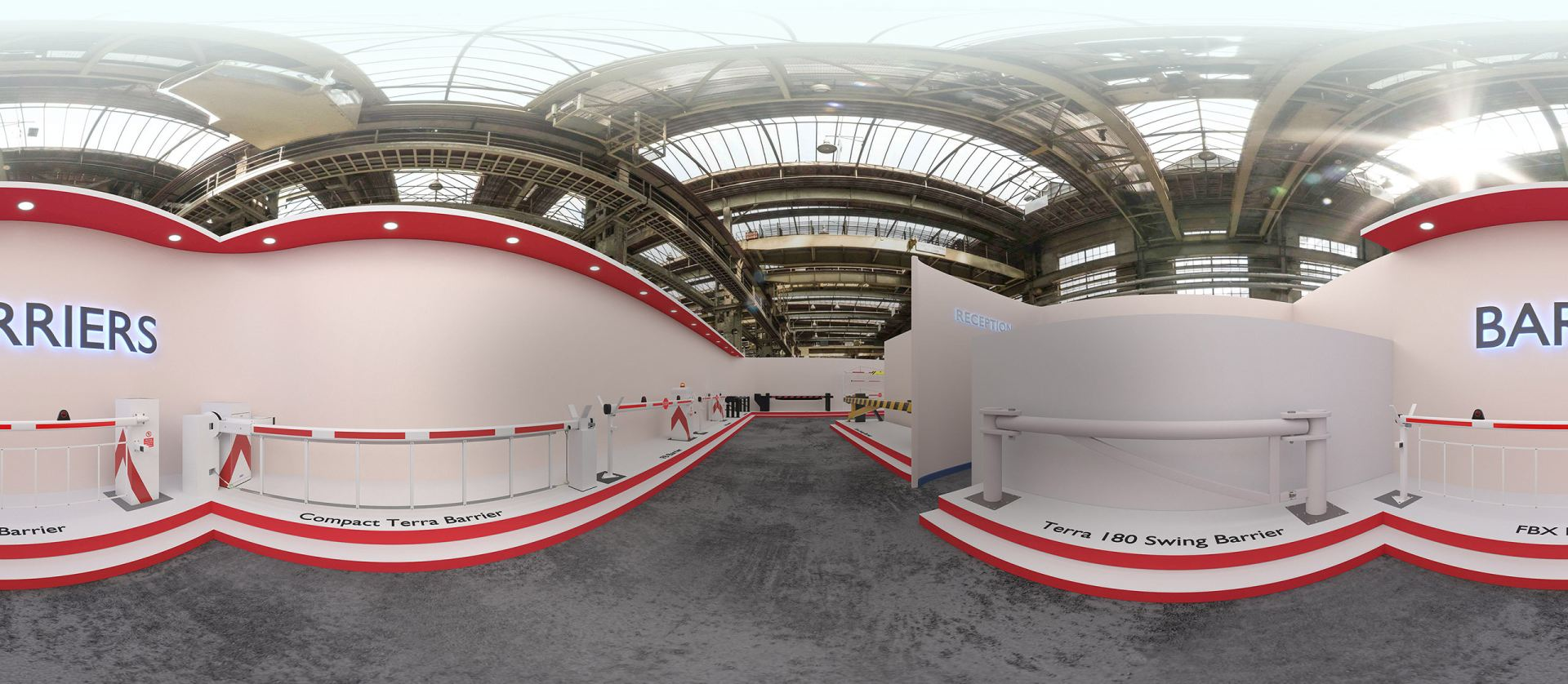 3D Virtual Showroom - Barriers
