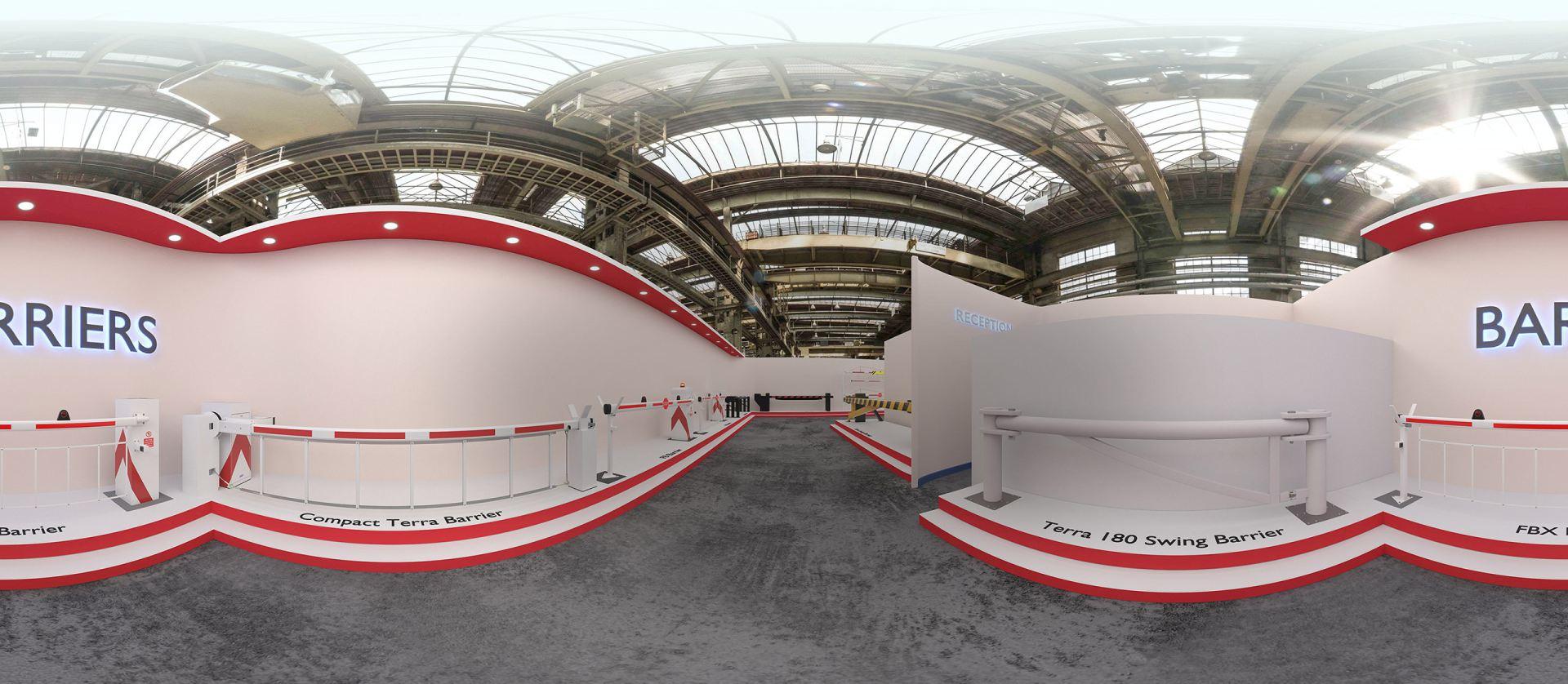 3D Virtual Showroom - Barriers