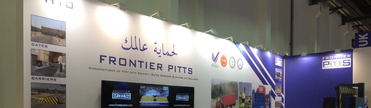 Frontier Pitts at Intersec 2019