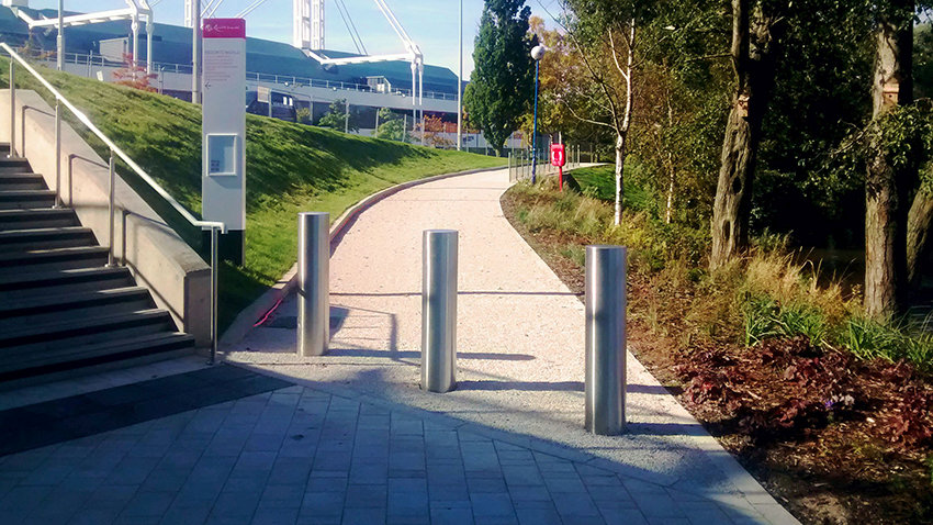 Hvm Shallow Static Bollards Welcome To Frontier Pitts