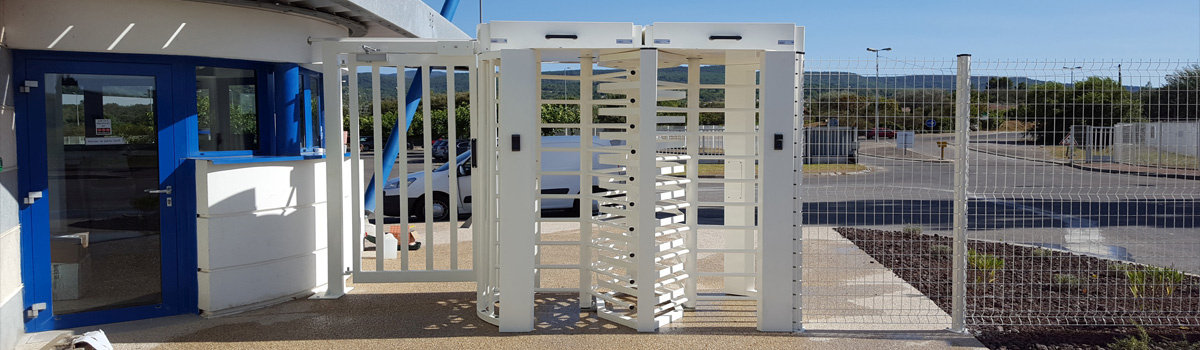 Business Park Turnstile