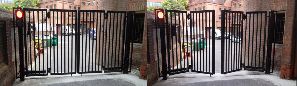 Civic Centre Bi Fold Gates