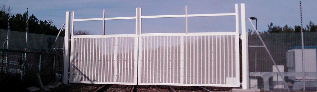 Power Station Large Gates