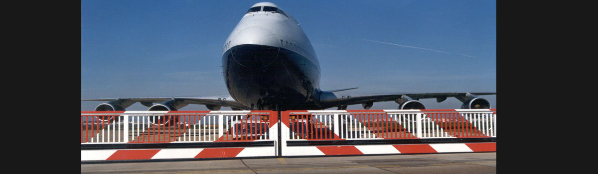 30 Year Old Taxiway Gates