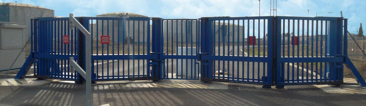 HVM Gates at Gas Site