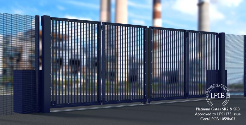 LPS 1175 Platinum Bi-parting Bi-folding Gate SR2 & SR3