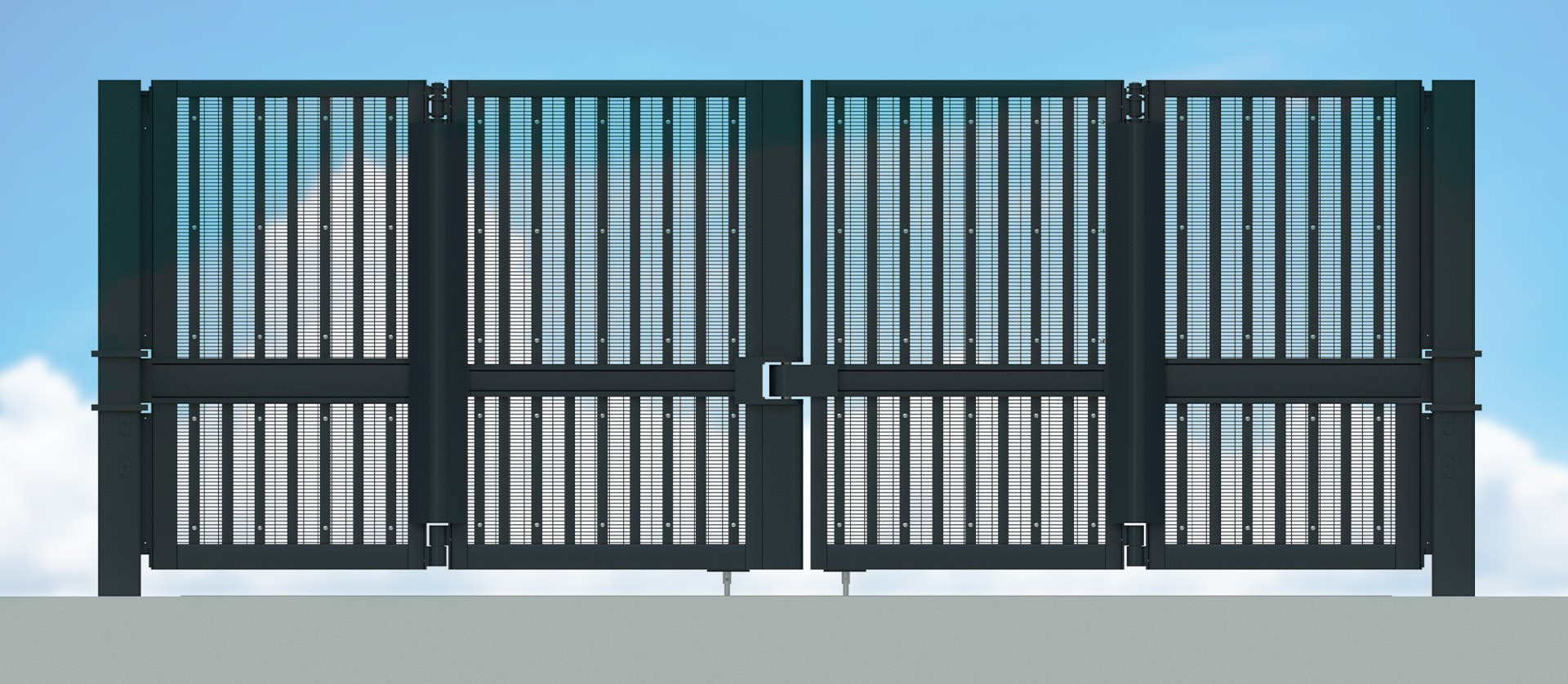 Frontier Pitts IWA14 Terra Bi-fold Gate